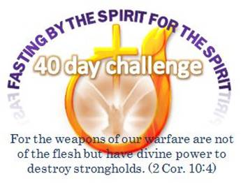 2012 Fasting Challenge