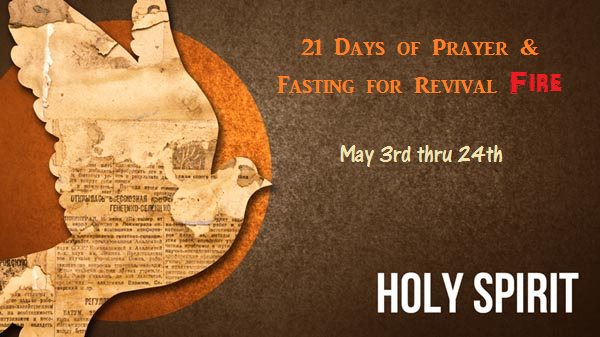 Day 12 21 days of prayer amp fasting for revival fire pastor